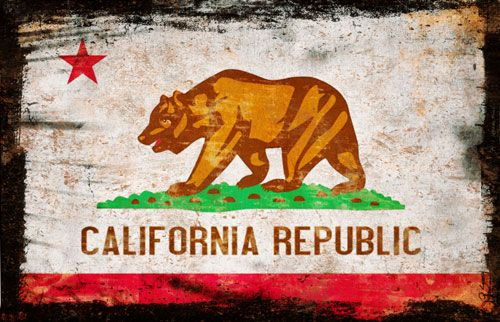 Early California History This Flag