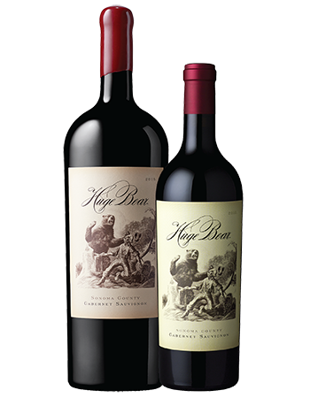 2015 Huge Bear Cabernet Sauvignon 750 + 1.5 Duo